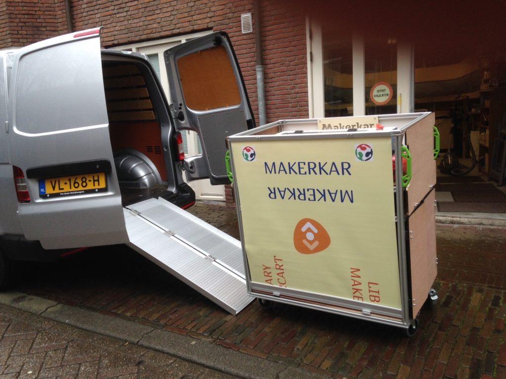 makerkar library makercart transport