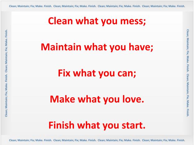 maker mantra